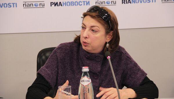 Елена Имедашвили, генеральный директор «Новости-Грузия»