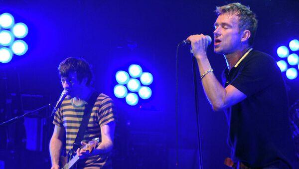 Концерт группы Blur. Архивное фото