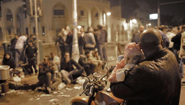 Акция протеста оппозиции в Египте
