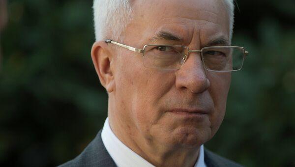 Глава правительства Украины Николай Азаров, архивное фото