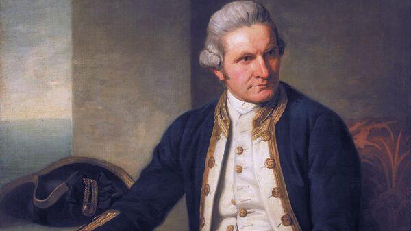 Портрет Дж. Кука, 25 май 1776 года. Художник Натаниэл Дэнс