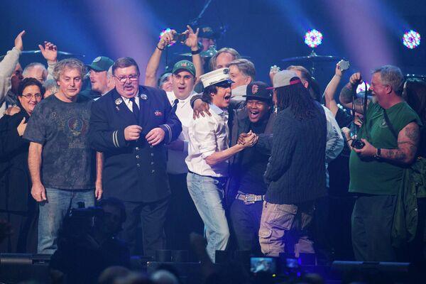 Благотворительный рок-концерт 12-12-12 в нью-йоркском зале Madison Square Garden