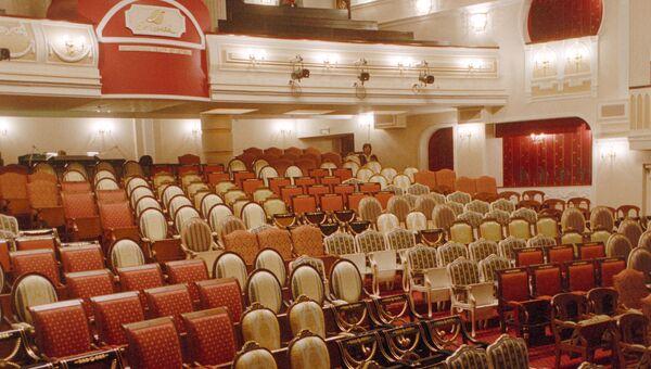 Большой зрительный зал в новом здании Московского театра Et Cetera. Архивное фото