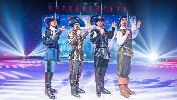 Ледово-конное шоу Три мушкетера