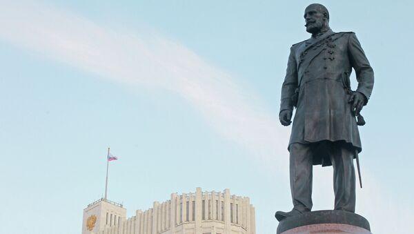 Памятник П.Столыпину в Москве