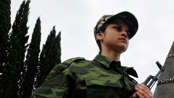 9 мая в Абхазии, архивное фото
