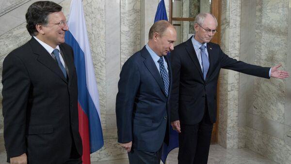 В.Путин прибыл в Брюссель для участия в саммите Россия-ЕС