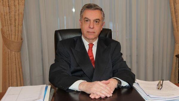 Посол Греции в России Михаил Спинеллис