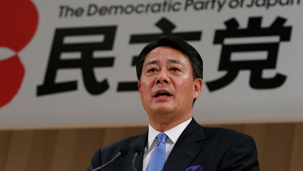 Экс-глава японского министерства экономики, торговли и промышленности Банри Кайэда. Архивное фото