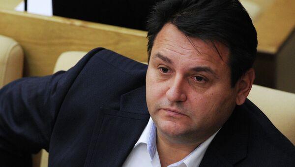 Депутат фракции Справедливая Россия Олег Михеев