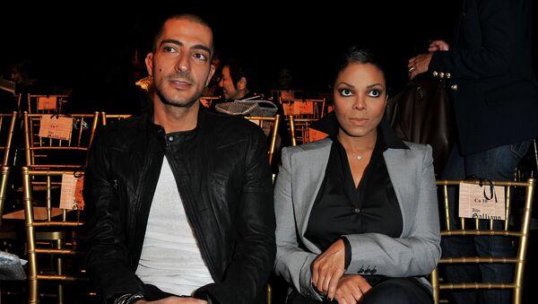 Виссам Аль Мана (Wissam Al Mana) и Джанет Джексон (Janet Jackson). Архивное фото