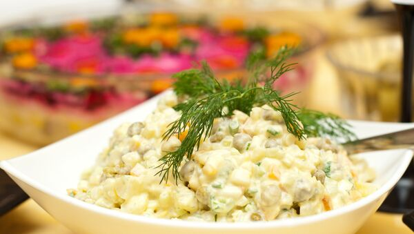 Салат оливье. Архивное фото