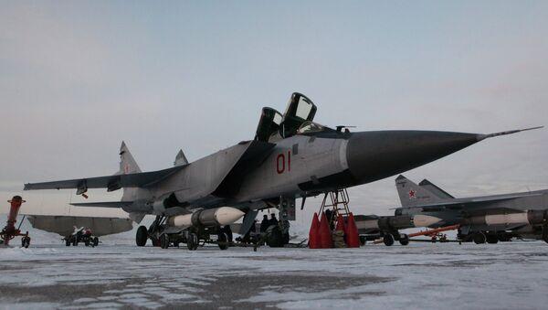 Самолеты МиГ-31БМ. Архивное фото