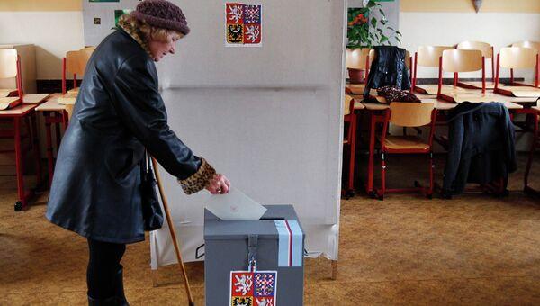 Первый день президентских выборов в Чехии