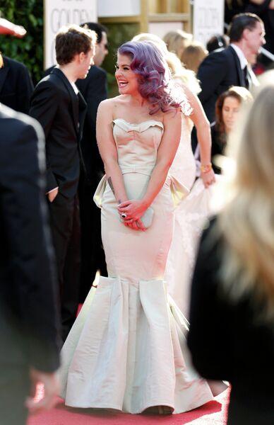 Келли Осборн на церемонии вручения премии «Золотой глобус»