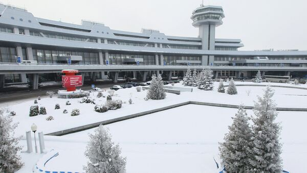 Национальный аэропорт Минска. Архив