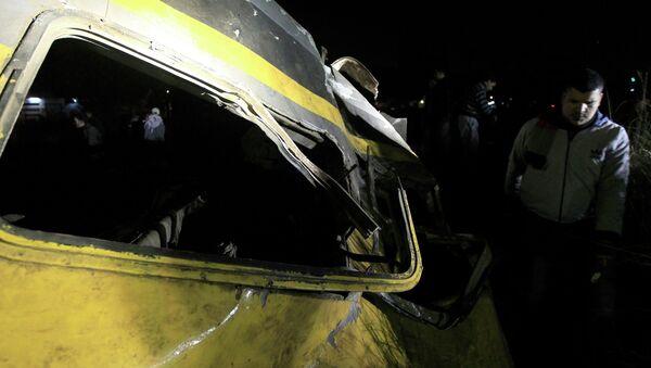 Крушение военного поезда в Египте