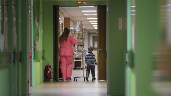 Деткое онкологическое отделение городской больницы в Санкт-Петербурге