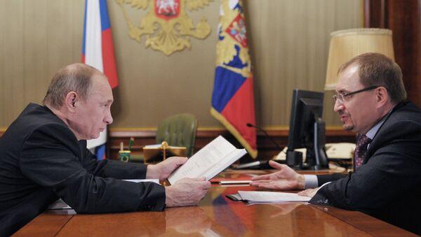 Встреча Владимира Путина с Николаем Кропачевым