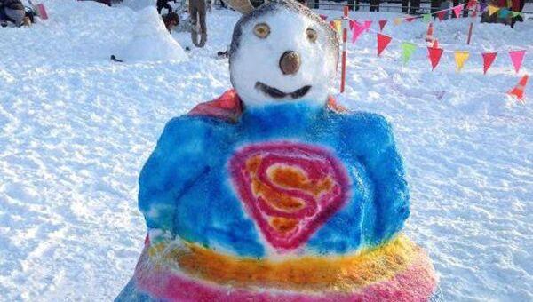 Авторские снеговики