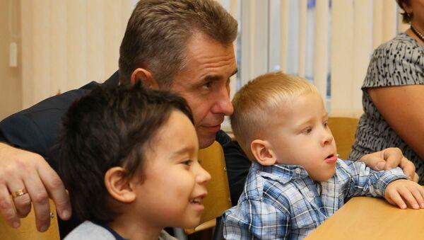 Уполномоченный по правам ребенка Павел Астахов