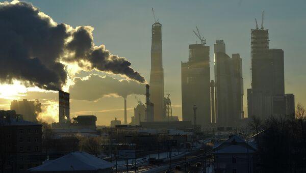 Вид Москва-Сити, архивное фото