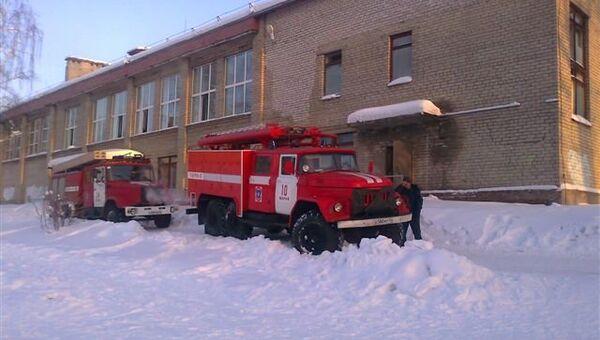 Задымление на пищеблоке в школе под Костромой
