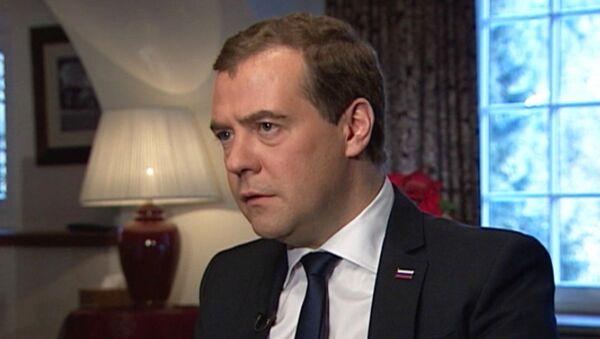 Медведев о коррупции, усыновлении детей-сирот и развитии экономики