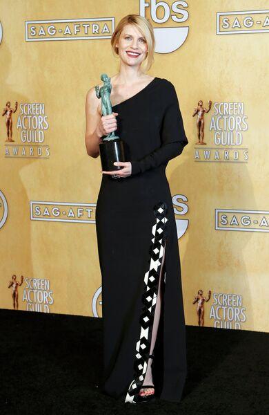 Актриса Клэр Дейнс на 19-ой церемонии вручения премии Гильдии киноактеров США