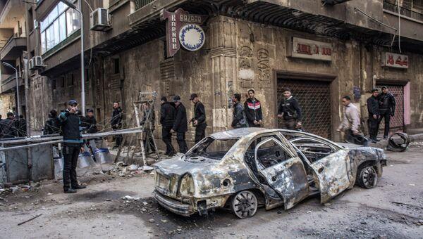 Беспорядки в Каире
