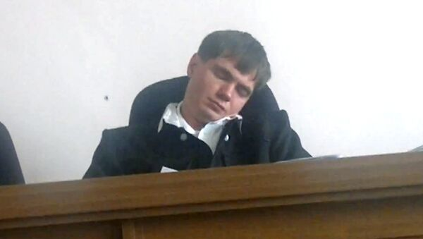 Зампредседателя Благовещенского городского суда по уголовным делам Евгений Махно