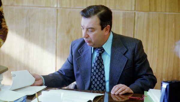 Евгений Примаков в должности директора Института востоковедения, 1979 год