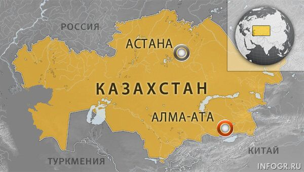 Казахстан, Алма-Ата