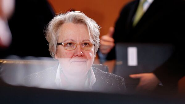 Министр образования Германии Аннетте Шаван