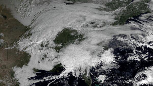 Холодный циклон обрушился на северо-восток США