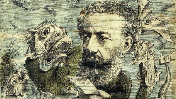 Фрагмент карикатуры с обложки журнала L'Algerie от 15 июня 1884