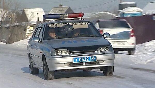 Стоп-кадр видео об убийстве девочки в Иркутской области