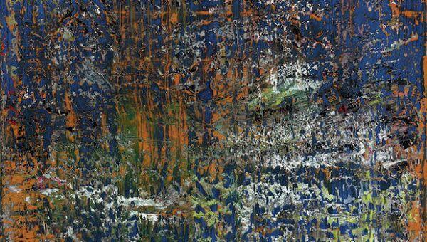 Картина Герхарда Рихтера AbstraktesBild
