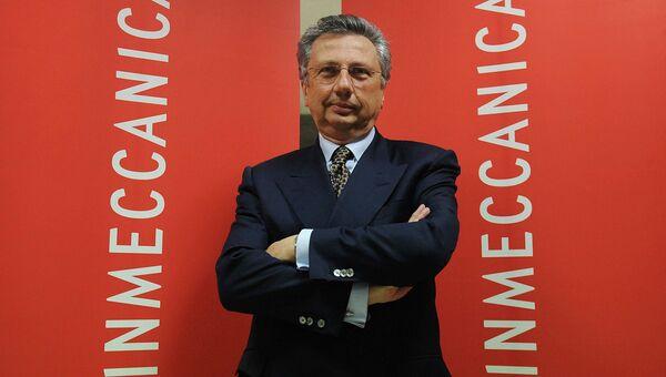 Бывший исполнительный директор Finmeccanica Group Джузеппе Орси. Архивное фото