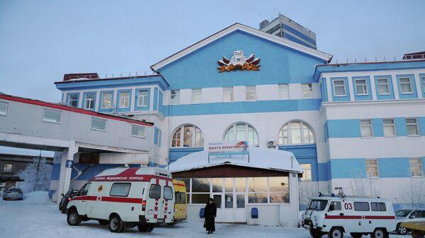 Взрыв метана на шахте Воркутинская в Коми