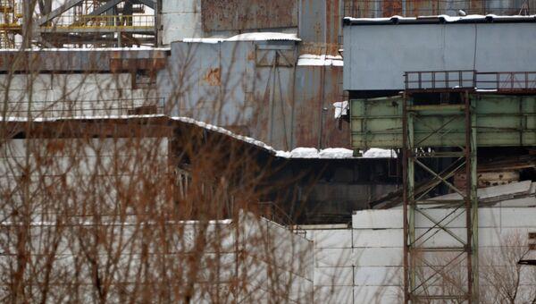 На Чернобыльской АЭС произошло частичное обрушение кровли. Архив