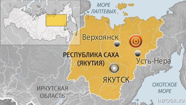 Землетрясение в Якутии