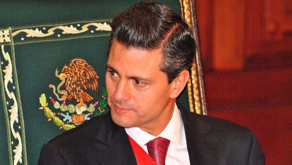 Президент Мексики Энрике Пенья Ньето, архивное фото