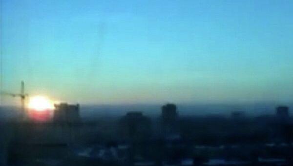 Падение метеорита в Челябинской области