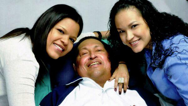 Первая фотография Чавеса после операции