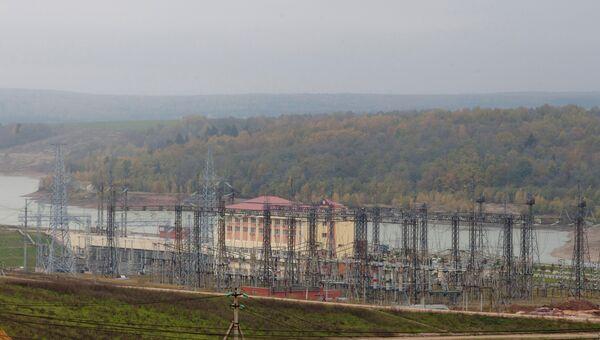 Строительство Загорской ГАЭС-2 в Московской области. Архивное фото