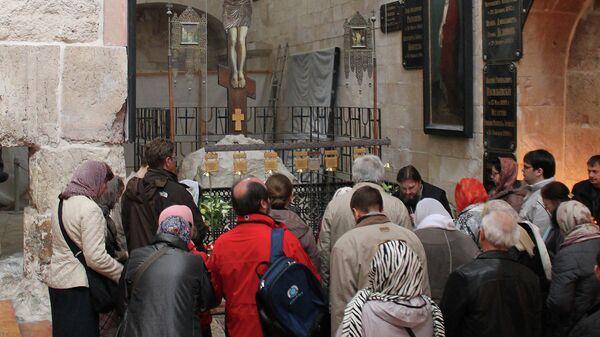 Православное подворье в Иерусалиме и доска на нем памяти святого антифашиста Александра Шмореля