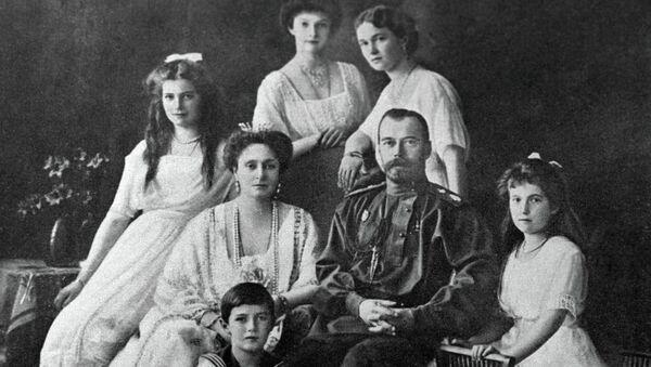 Русский Император Николай II с семьёй