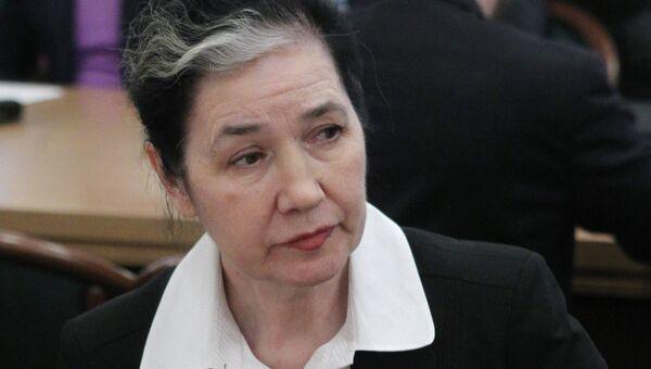 Депутат Галина Хованская. Архив