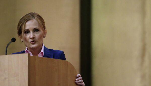 Председатель комитета по безопасности и противодействию коррупции Государственной Думы РФ Ирина Яровая. Архивное фото